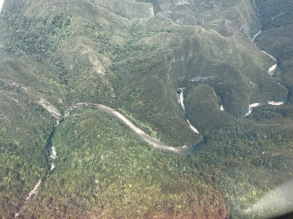 Heaphy river from air