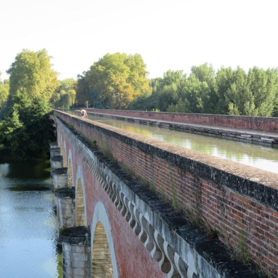 le pont canal de Moissac