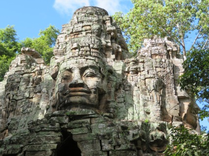 North Gate Angkor Thom