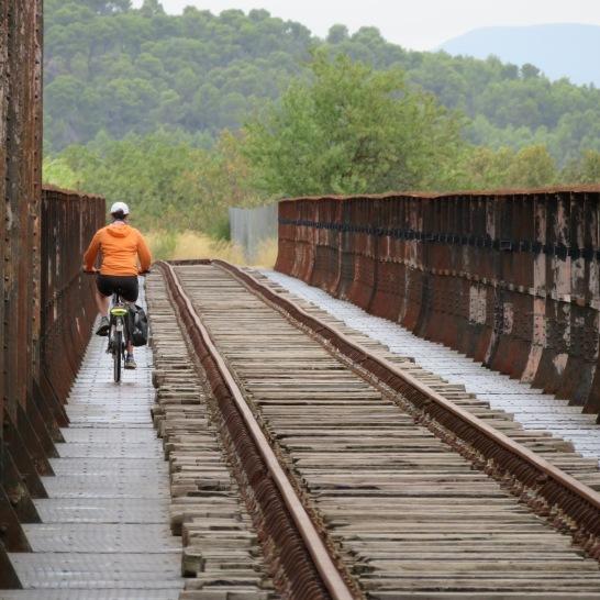 sur le pont de l'Aude