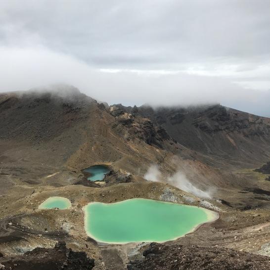 Tongariro Emerald lake