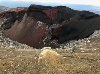 Tongariro Red Crater