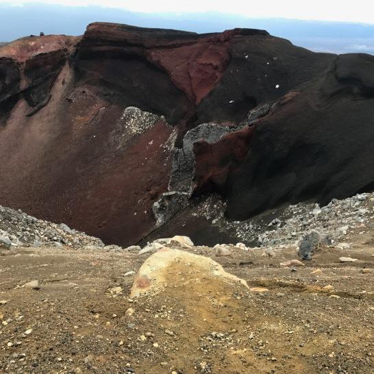 Tongariro Red Crater