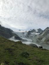 Moiry Cabane and Glacier