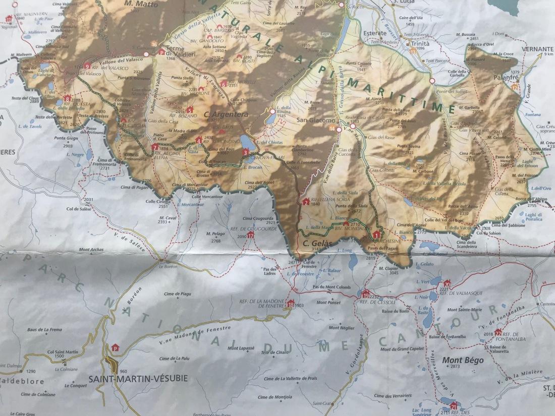 Mercantour Alpi Marittime
