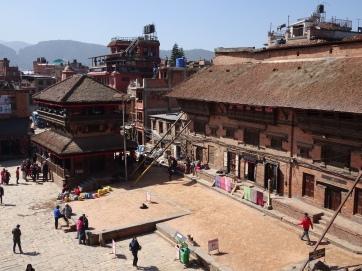 Bhaktapur from Nyatapola