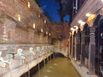 Dwarika Hotel fountains