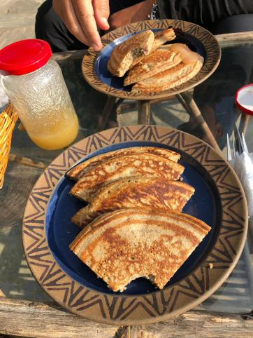 Namobuddha Normandy breakfast