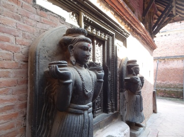Patan Golden gate inner court