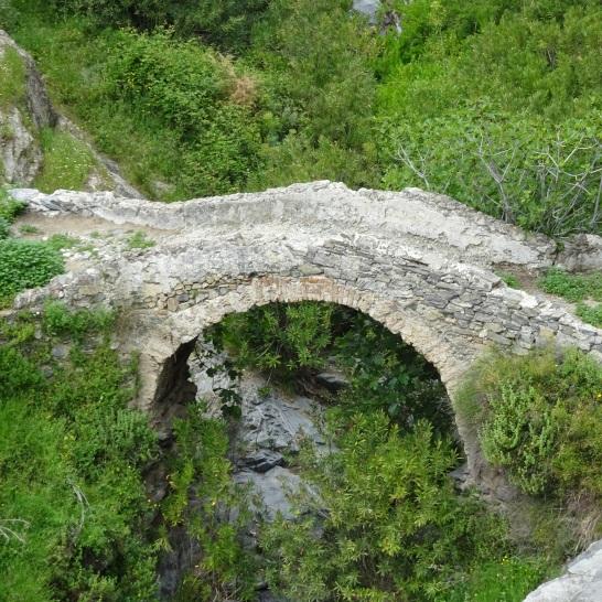 competa to sedella puente romana