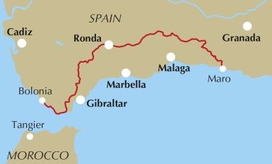 andalucia coast to coast trek