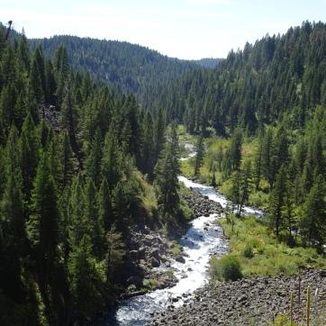 Warm River Canyon