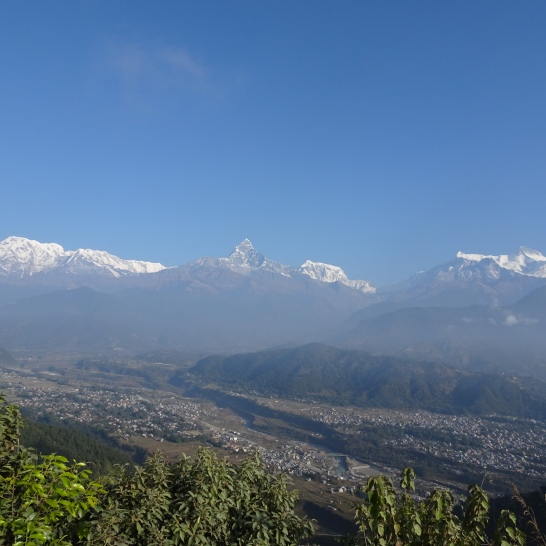 Anna Himal and Machhapuchre