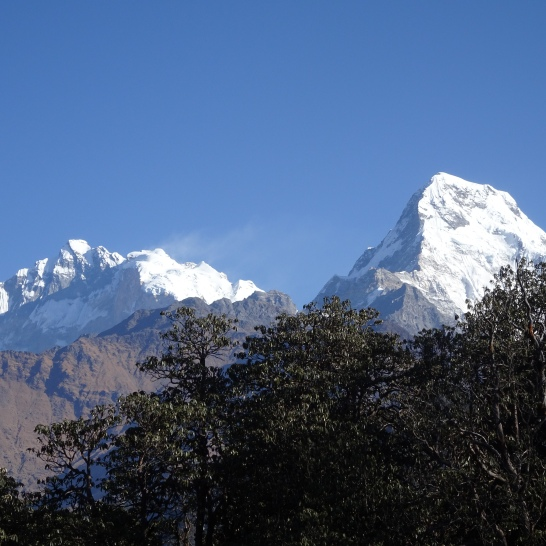 ANNAPURNA and Anna South from Deorali