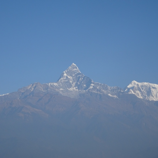 MACHHAPUCHRE and HIMCHULI from Poonhill